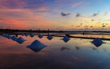 Cánh đồng muối Việt - nơi ngắm hoàng hôn đẹp nhất thế giới