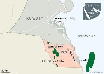 kuwait va a rap xe ut thao luan viec noi lai khai thac dau tai khu vuc trung lap