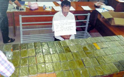 Xác lập 2 chuyên án phá đường dây buôn ma túy khổng lồ