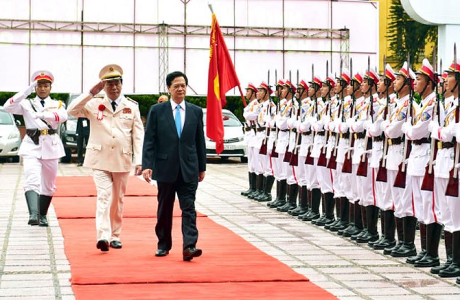 Thủ tướng dự và phát biểu tại Đại hội thi đua Vì an ninh Tổ quốc