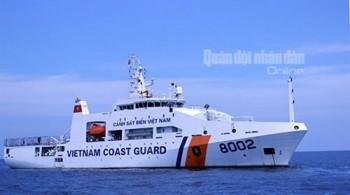 [Chùm ảnh] Khám phá tàu 8002 của Cảnh sát biển Việt Nam