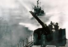 Trận chiến mở màn trên Vịnh Bắc Bộ