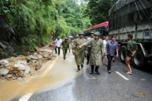 Phó Thủ tướng chỉ đạo khắc phục hậu quả mưa lũ tại Lào Cai