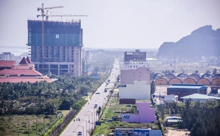 Kết quả hình ảnh cho Người Trung Quốc lách luật, gom hết đất ven biển Đà Nẵng