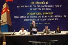 Phải làm rõ quy chế pháp lý của đảo, bãi đá ở Biển Đông?