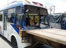 Tai nạn liên hoàn, hàng chục hành khách hoảng loạn