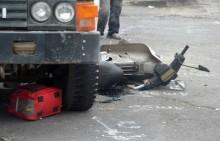 Xe máy va chạm xe ben, một phụ nữ tử vong