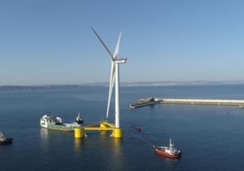 MHI Vestas Offshore hoàn thành dự án điện gió nổi ngoài khơi đầu tiên tại châu  Âu