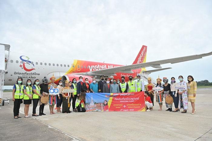 Vietjet khai trương đường bay nội địa thứ 10 tại Thái Lan, kết nối thủ đô Bangkok và Nakhon Si Thammarat