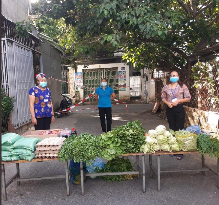 """Gian hành không đồng của Chi hội phụ nữ khu phố 4, bắt đầu từ sự lan toả """"tiệm rau không đồng"""" của ông Chức"""