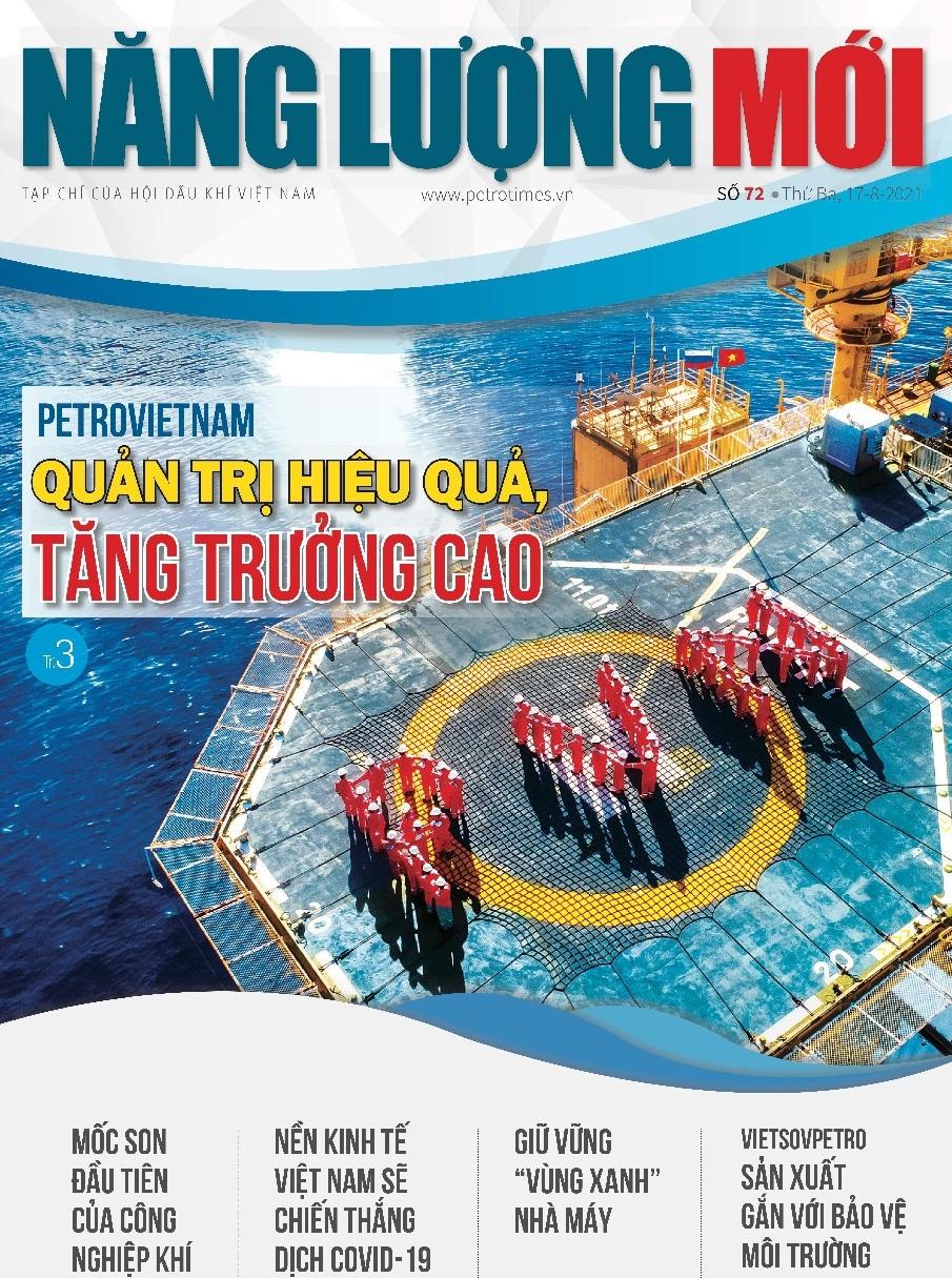 Đón đọc Tạp chí Năng lượng Mới số 72, phát hành thứ Ba ngày 17/8/2021