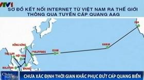 Vì sao đường cáp quang Việt Nam liên tục bị đứt?