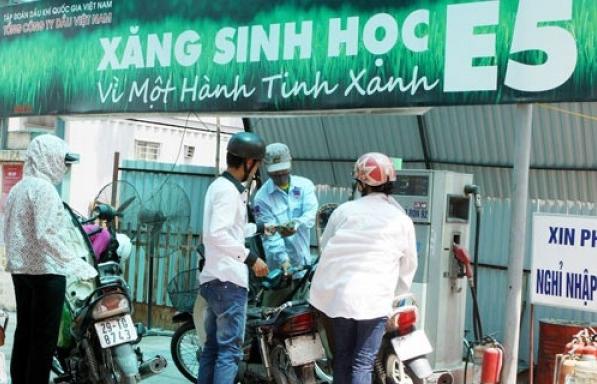 thu tuong chi thi tang cuong phan phoi su dung xang sinh hoc