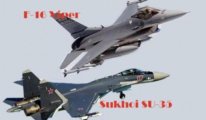 """Các siêu chiến đấu cơ Nga khiến F-16 Mỹ thành """"tàn tích quá khứ'"""
