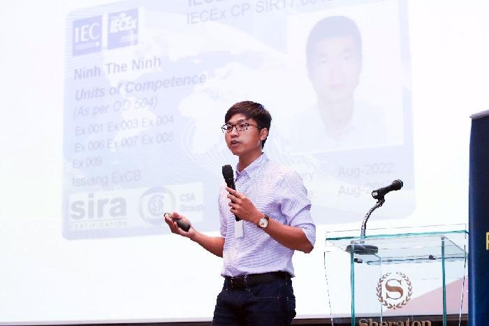 tes vietnam to chuc thanh conng hoi thao atex iecex2018