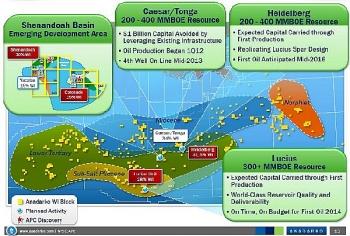 Shell đang đàm phán để bán tài sản tại Vịnh Mexico với giá 1,3 tỷ USD
