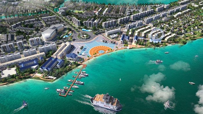 chon nha pho vuon tai aqua city de song thu thai giua pho do thi tien nghi
