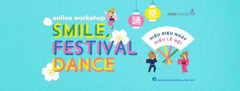Workshop múa trực tuyến: giới thiệu múa lễ hội Nhật Bản