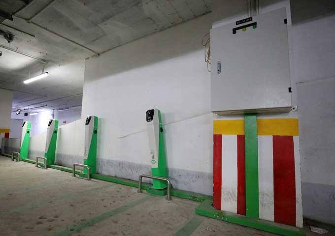 VinFast tung loạt chính sách đặc biệt hỗ trợ chung cư lắp đặt trạm sạc xe điện