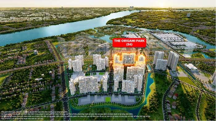 """Cơ hội cuối cùng sở hữu phân khu """"vàng"""" The Origami Park tại Vinhomes Grand Park"""