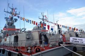 Thêm hai tàu pháo tuần tiễu hiện đại cho Vùng 3 Hải quân