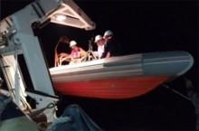 Cứu hai ngư dân gặp nạn do biển động