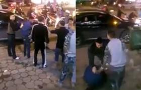 [VIDEO] - Trộm giày bất thành, nam thanh niên bị đánh hội đồng dã man