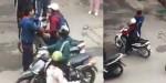 [VIDEO] Quên vé, nữ sinh viên ĐH Công đoàn bị người trông xe tát vào mặt