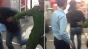 [VIDEO] Tên trộm liều lĩnh mượn di động của công an rồi bỏ chạy