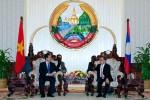 Thủ tướng Nguyễn Tấn Dũng hội kiến Thủ tướng Lào