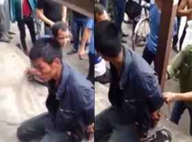 [VIDEO] Hai tên trộm xe ở Hạ Long bị đánh