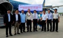 Cảng hàng không quốc tế Đà Nẵng đón hành khách thứ 6 triệu