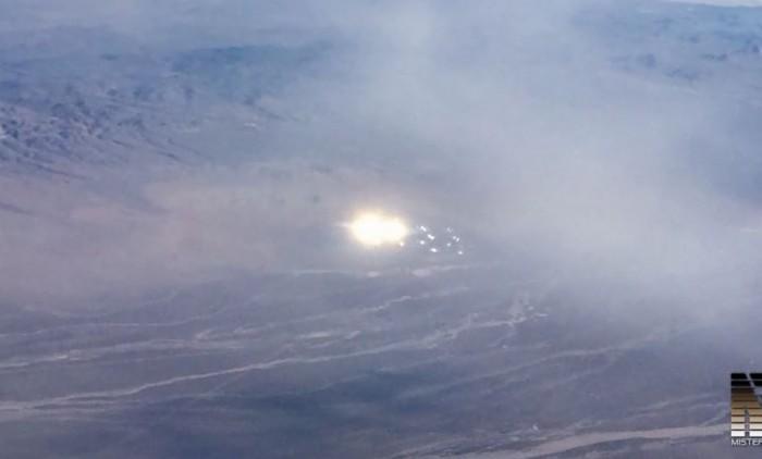 [VIDEO] 'Vật thể lạ' phát sáng gần Khu vực 51 của Mỹ