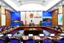 Phiên họp Chính phủ thường kỳ tháng 11 năm 2015