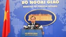 Phản đối việc Trung Quốc đe dọa vũ lực với tàu Việt Nam