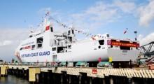 Hạ thủy tàu Cảnh sát biển 8005