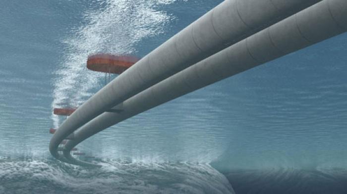 Đường hầm dưới nước ở Na Uy