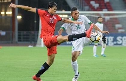loat tran dau tien bang b aff cup 2018 indonesia tu ban vao chan minh