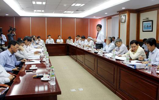 Tổng giám đốc PVN Nguyễn Quốc Khánh làm việc với các đơn vị phía Nam