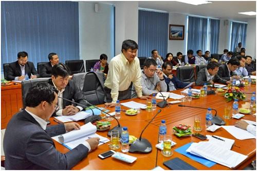 Lãnh đạo PVN làm việc với Công ty Lọc Hóa dầu Bình Sơn 2014