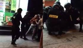 [VIDEO] Thanh niên mang ma túy đá chống trả quyết liệt 4 CSCĐ trên phố