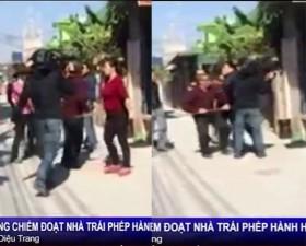 [VIDEO] Phóng viên ANTV bị hành hung ở Hải Phòng