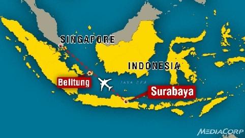 Vụ máy bay QZ8501 mất tích: Vẫn chưa tìm thấy dấu vết