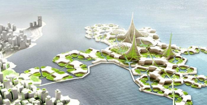 Hà Lan với những thành phố nổi trong tương lai