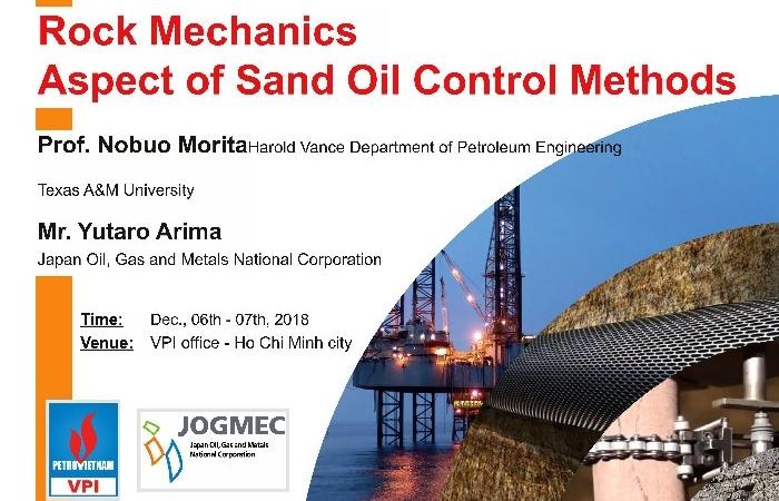 "Hội thảo ""Rock mechanics aspect of sand oil control methods"""