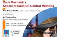 hoi thao rock mechanics aspect of sand oil control methods