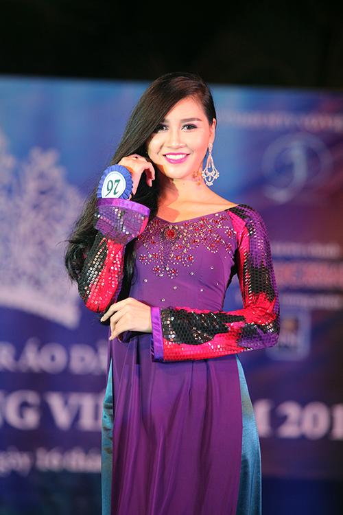 Đêm Gala Áo dài - Vòng chung kết Hoa hậu Đại dương 2014