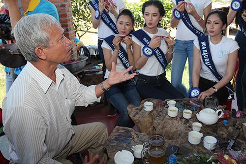 Hoạt động bên lề cuộc thi Hoa hậu Đại dương 2014