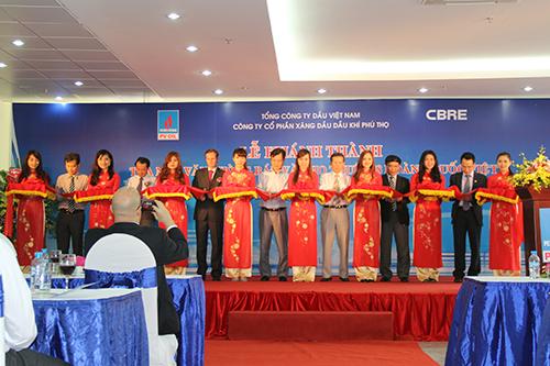 Công ty Xăng dầu Phú Thọ khánh thành tòa nhà 148 Hoàng Quốc Việt