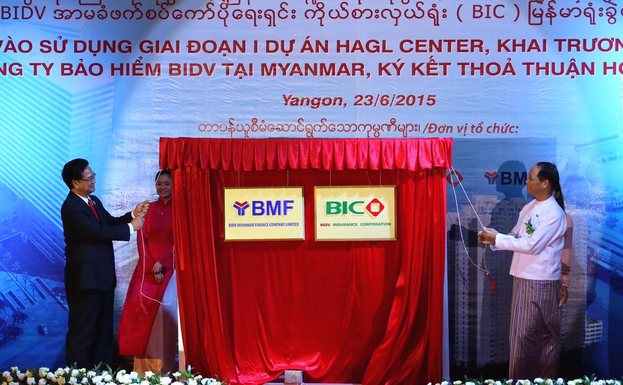BIDV đầu tư tài chính ở Myanmar